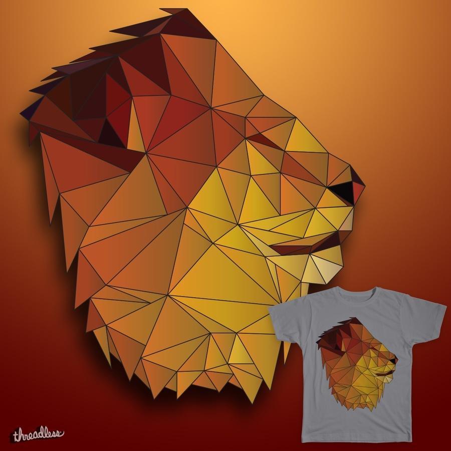 medium resolution of lion clipart lionhead rabbit geometry