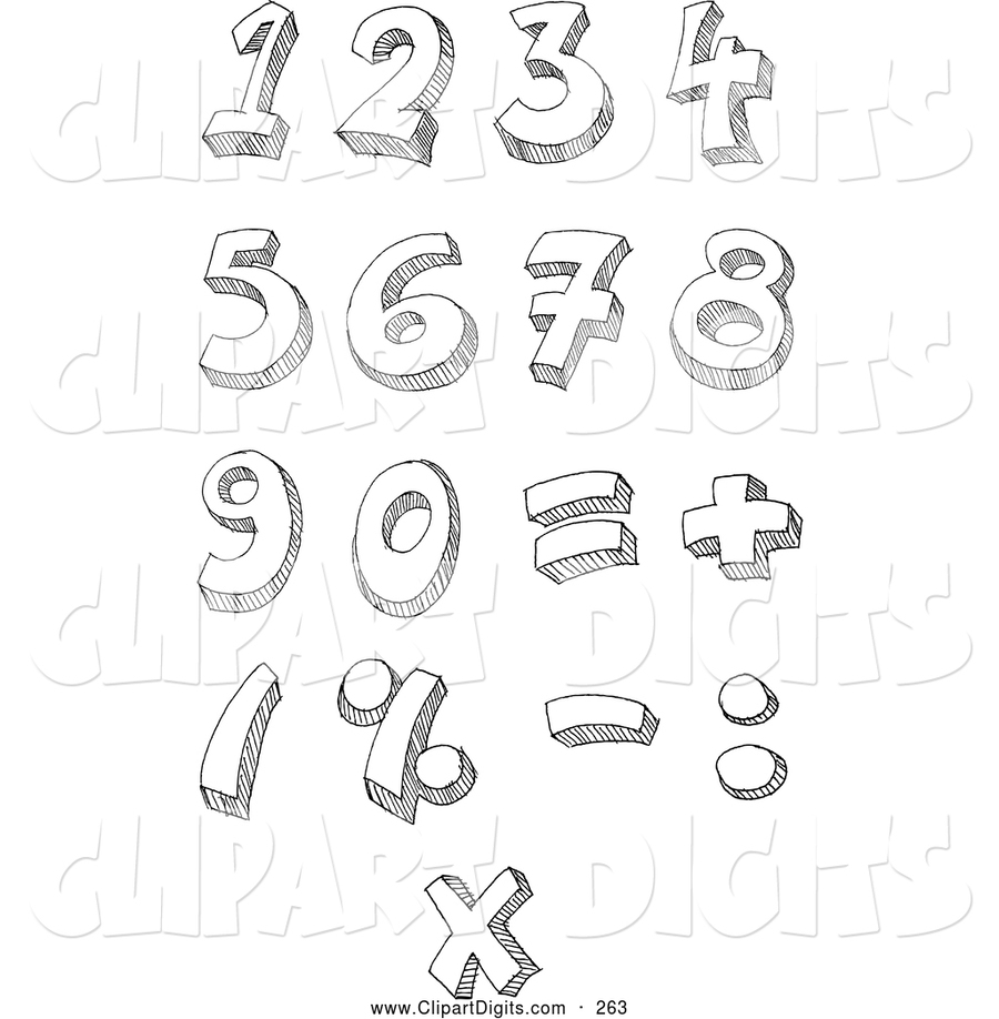 medium resolution of number clipart number clip art