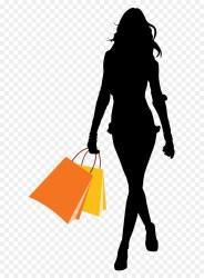 Shopping Cart clipart Shopping Woman Bag transparent clip art