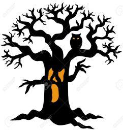 spooky tree clipart clip art [ 900 x 943 Pixel ]