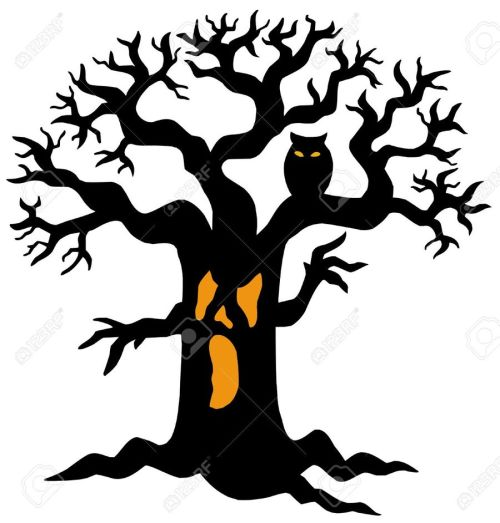 small resolution of spooky tree clipart clip art