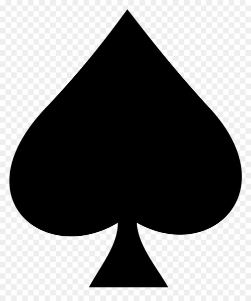 small resolution of spade deck of cards clipart playing card ace of spades