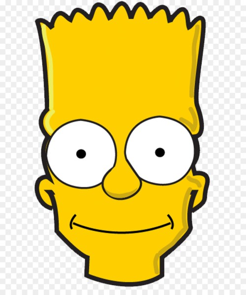 small resolution of bart simpson face transparent clipart bart simpson homer simpson marge simpson