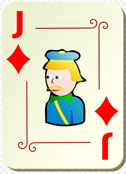 small resolution of joker playing card clipart playing card joker jack