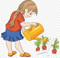 Flower Garden clipart Garden Cartoon Child transparent clip art