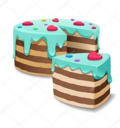 cake slice vector clipart chocolate cake cream bakery [ 900 x 900 Pixel ]