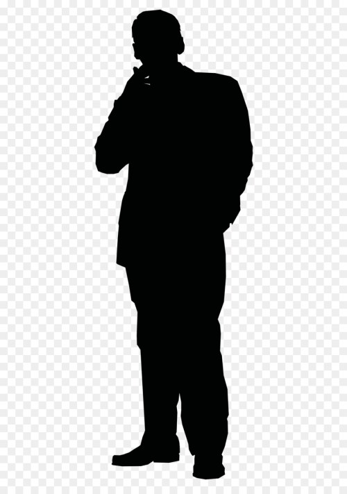 small resolution of silhouette person thinking clipart silhouette clip art