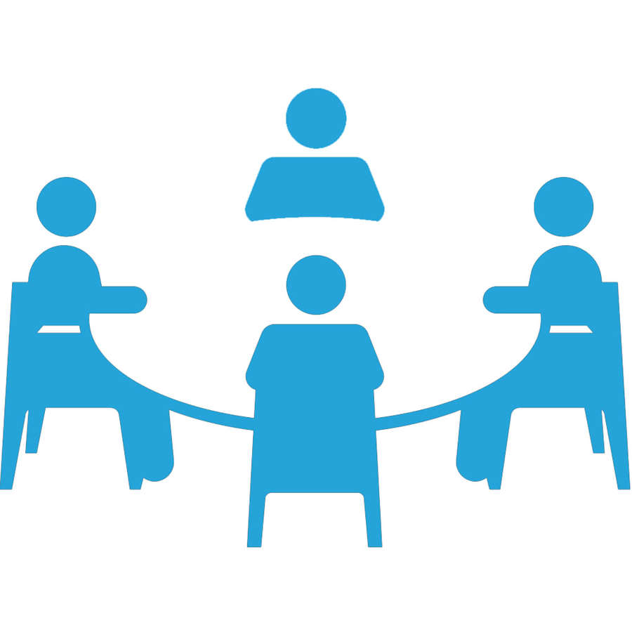 medium resolution of meeting icon png blue clipart meeting computer icons clip art