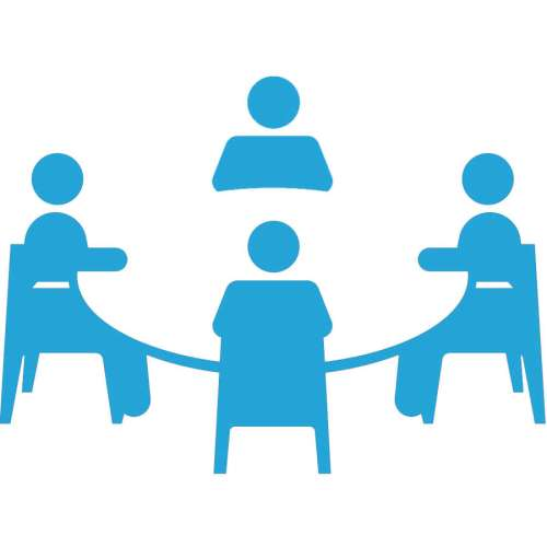small resolution of meeting icon png blue clipart meeting computer icons clip art