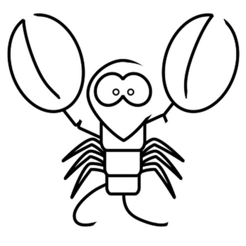 small resolution of download draw a cartoon lobster clipart lobster drawing clip art