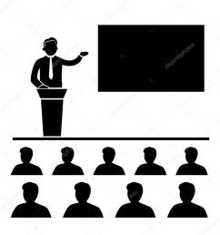 conference pictogram clipart meeting convention [ 900 x 900 Pixel ]