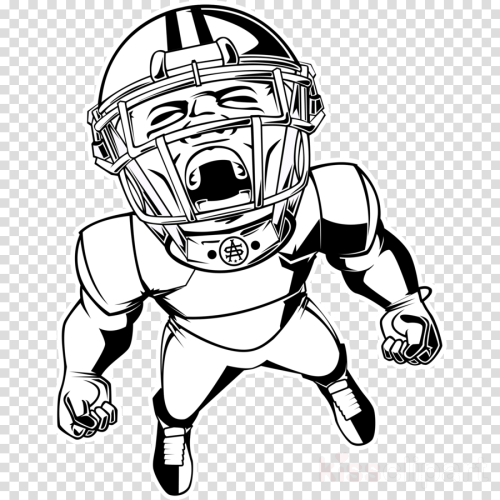 small resolution of football player blank clipart american football football player clip art