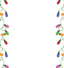 christmas border clipart paper santa claus clip art [ 900 x 1200 Pixel ]