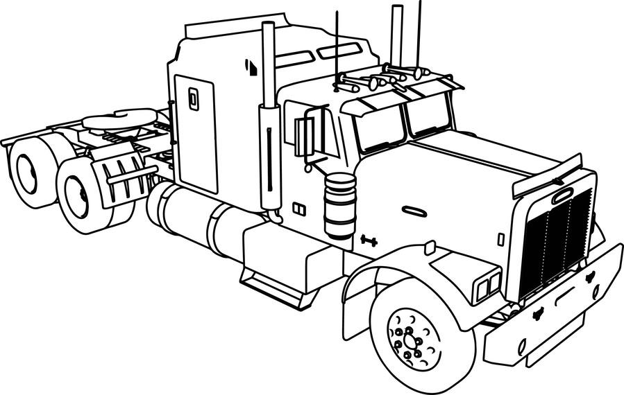 Semi Truck Clipart Free. free truck clipart 4807737 shop