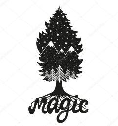 tree clipart pine tree sticker [ 900 x 900 Pixel ]