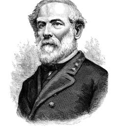 robert e lee clipart robert e lee american civil war confederate states of america [ 900 x 1019 Pixel ]