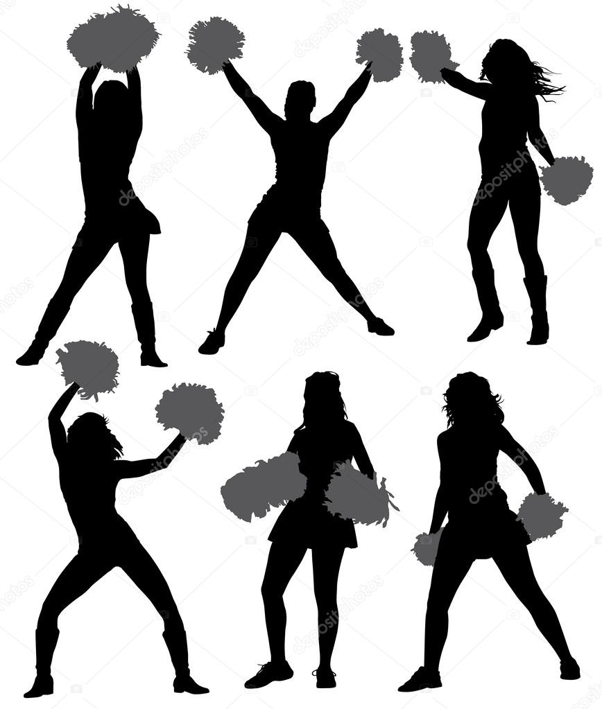 hight resolution of dance team silhouette clipart silhouette dance