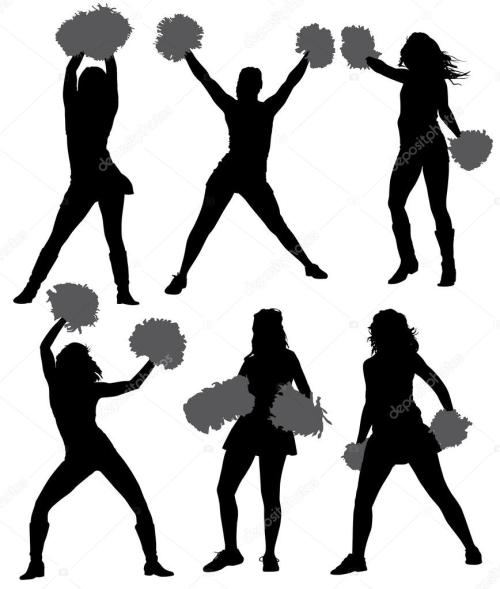 small resolution of dance team silhouette clipart silhouette dance