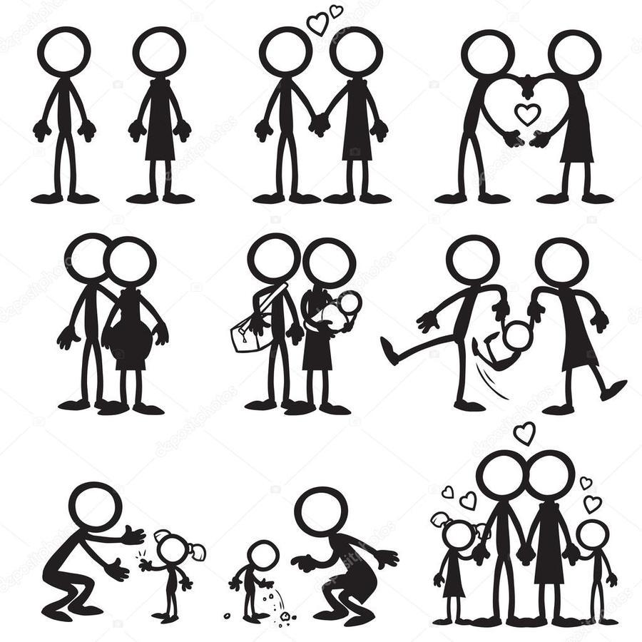 hight resolution of stickman family clipart stick figure clip art