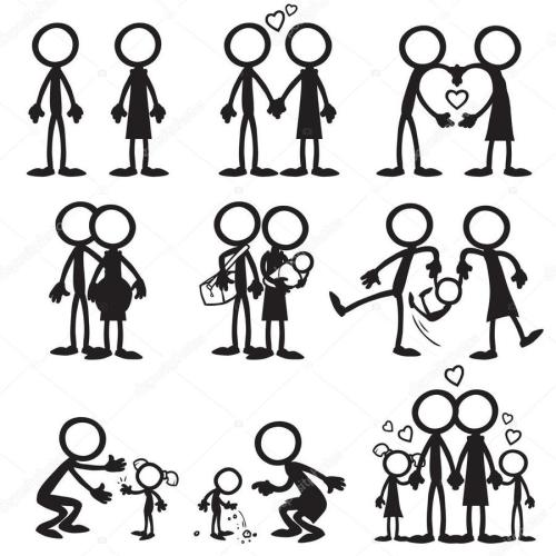 small resolution of stickman family clipart stick figure clip art