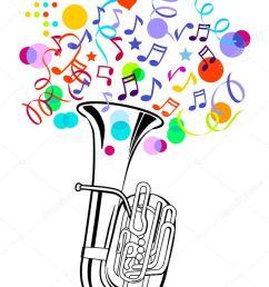 verjaardag tuba clipart tuba clip art [ 772 x 1024 Pixel ]