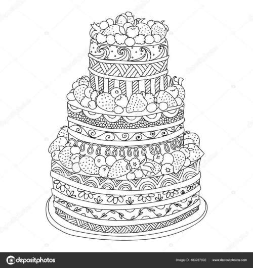 small resolution of download omalov nky dort clipart coloring book cake cake illustration design