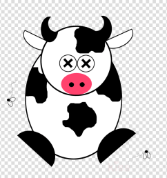 cartoon dead cow clipart cattle calf clip art [ 900 x 900 Pixel ]