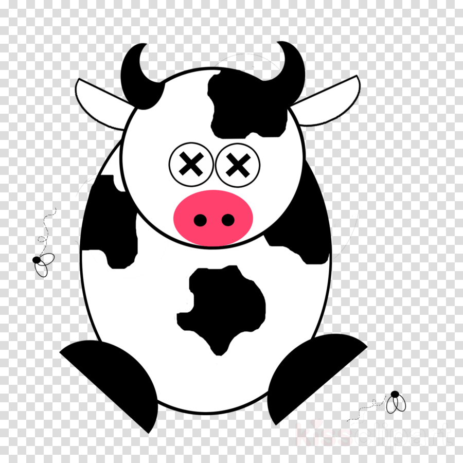 medium resolution of cartoon dead cow clipart cattle calf clip art