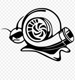 turbo snail clipart car decal sticker [ 900 x 900 Pixel ]