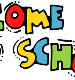 download welcome back to school clipart national primary school first day of school school education kindergarten [ 900 x 900 Pixel ]