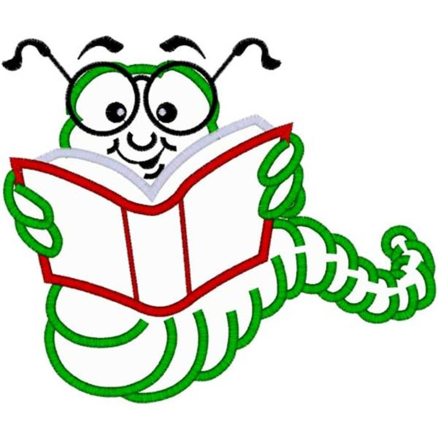 hight resolution of bookworm clipart ceip castra caecilia clip art