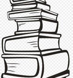 stack of books svg clipart book clip art [ 900 x 1700 Pixel ]