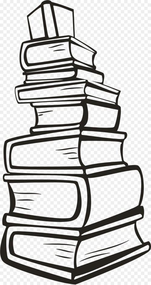 small resolution of stack of books svg clipart book clip art