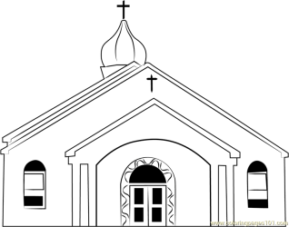 Book Black And White clipart Church Child Building transparent clip art