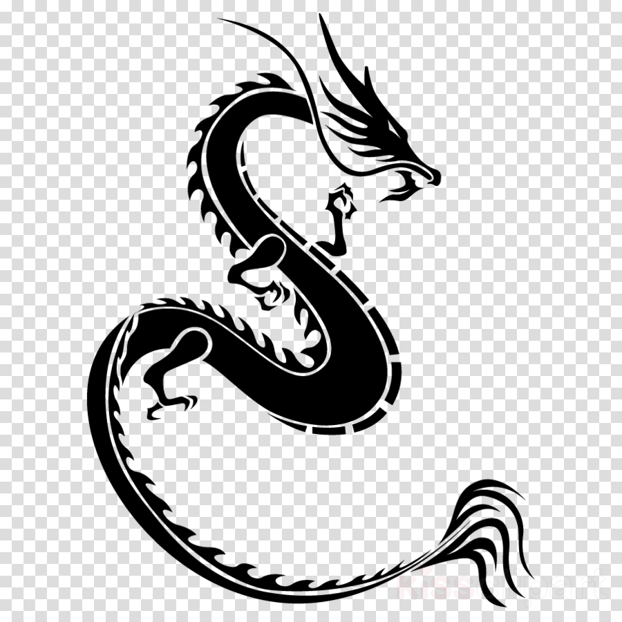 hight resolution of black dragon logo in png clipart dragon graphic design clip art