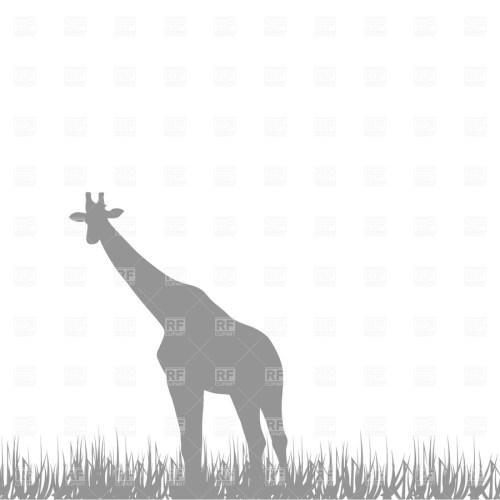 small resolution of giraffe clipart giraffe savanna fauna
