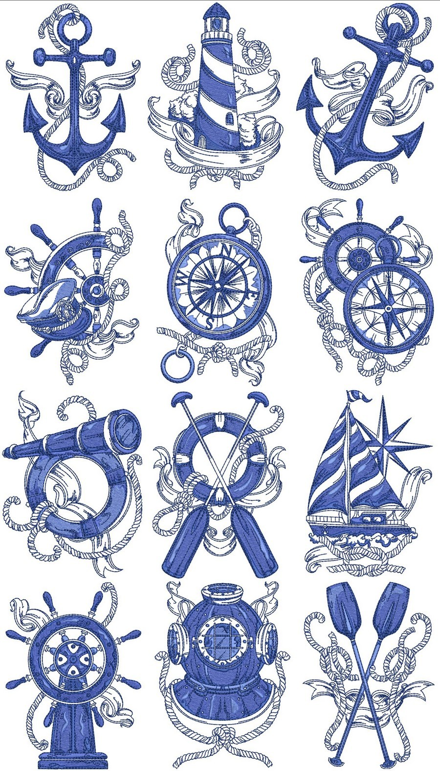 medium resolution of nautical embroidery designs clipart machine embroidery appliqu