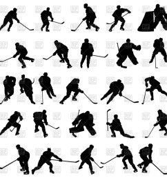 download ice hockey silhouette vector clipart ice hockey royalty free hockey illustration silhouette [ 900 x 900 Pixel ]