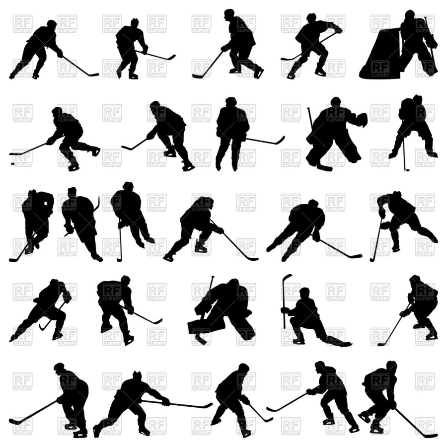 hight resolution of download ice hockey silhouette vector clipart ice hockey royalty free hockey illustration silhouette