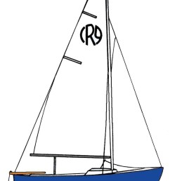 dinghy diagram clipart sailing cat ketch [ 779 x 1200 Pixel ]