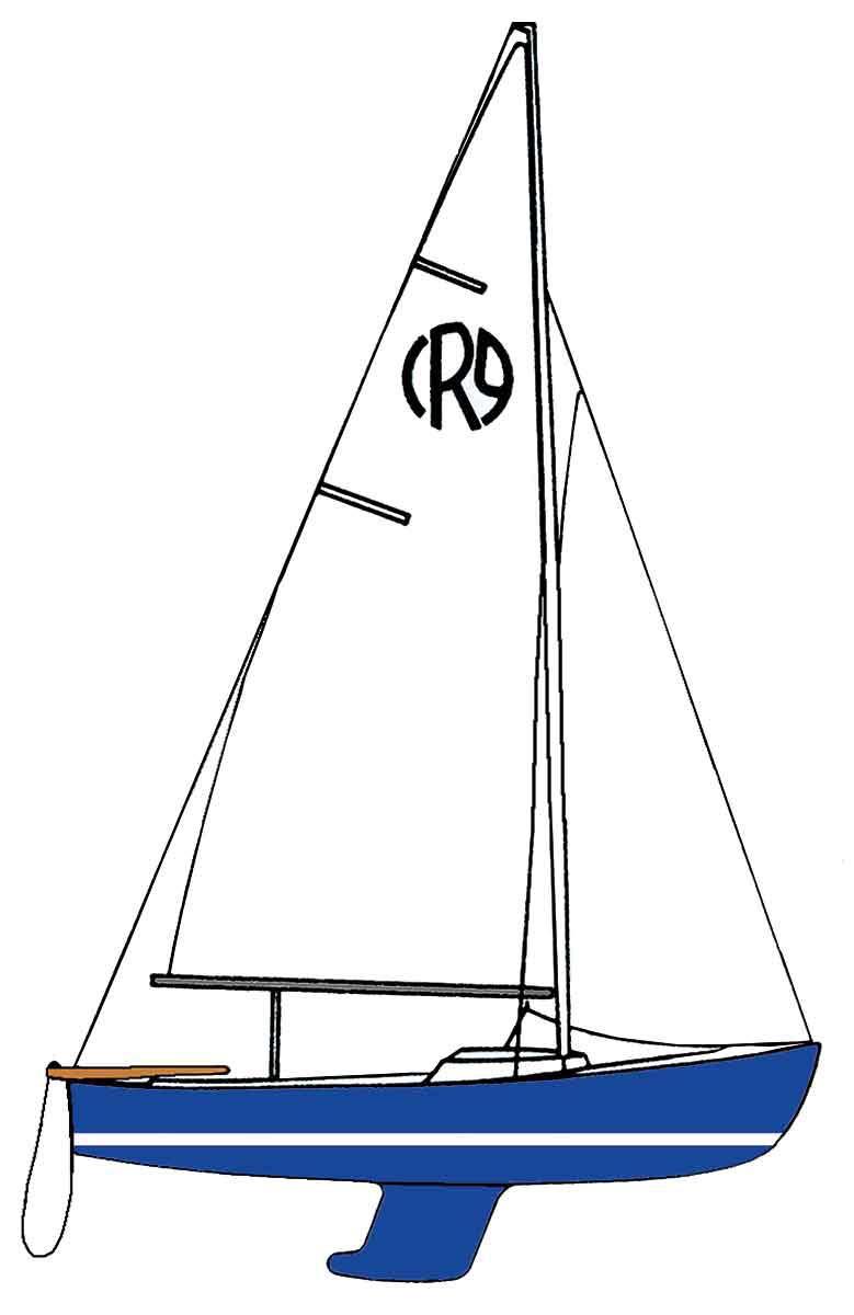 medium resolution of dinghy diagram clipart sailing cat ketch