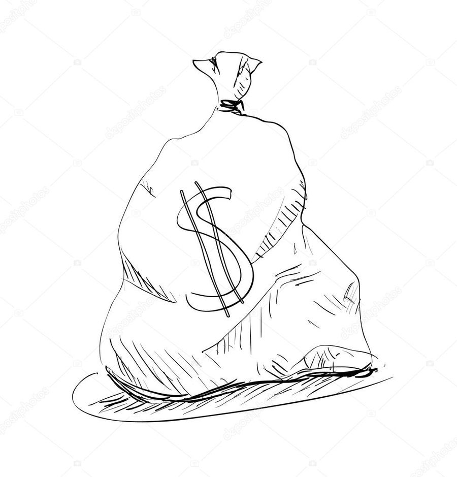 medium resolution of money clipart money sketch