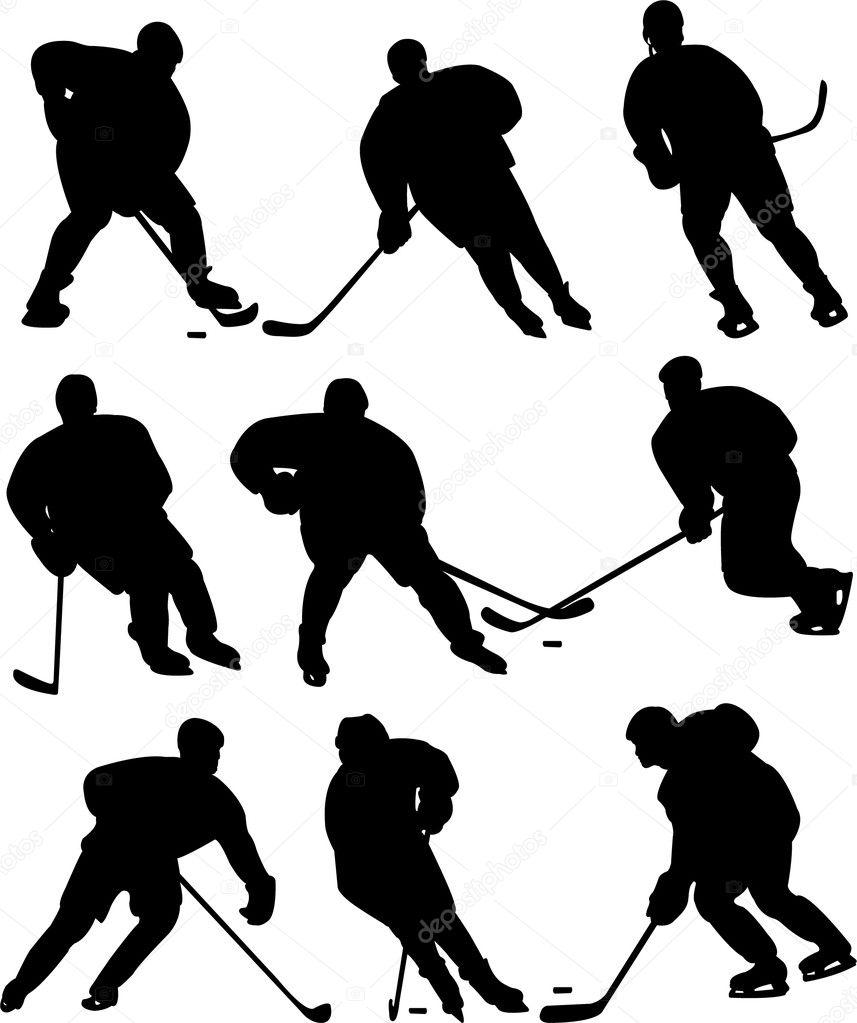 hight resolution of free hockey vector clipart video ice hockey clip art