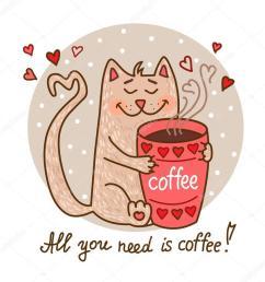 cartoon cat drinking coffee clipart coffee clip art [ 900 x 900 Pixel ]