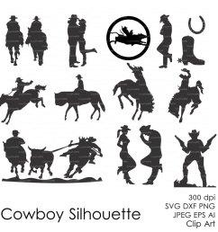 silhouette wild west clipart american frontier cowboy clip art [ 900 x 900 Pixel ]