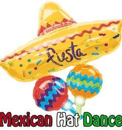 balloon mexico party  [ 900 x 900 Pixel ]