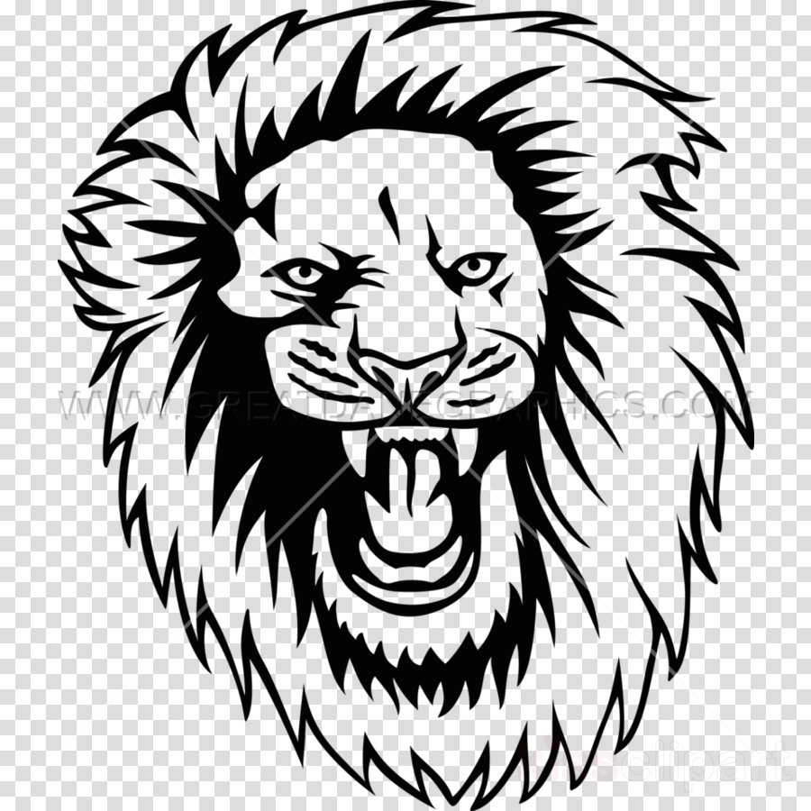 hight resolution of roaring lion svg clipart lion tiger clip art