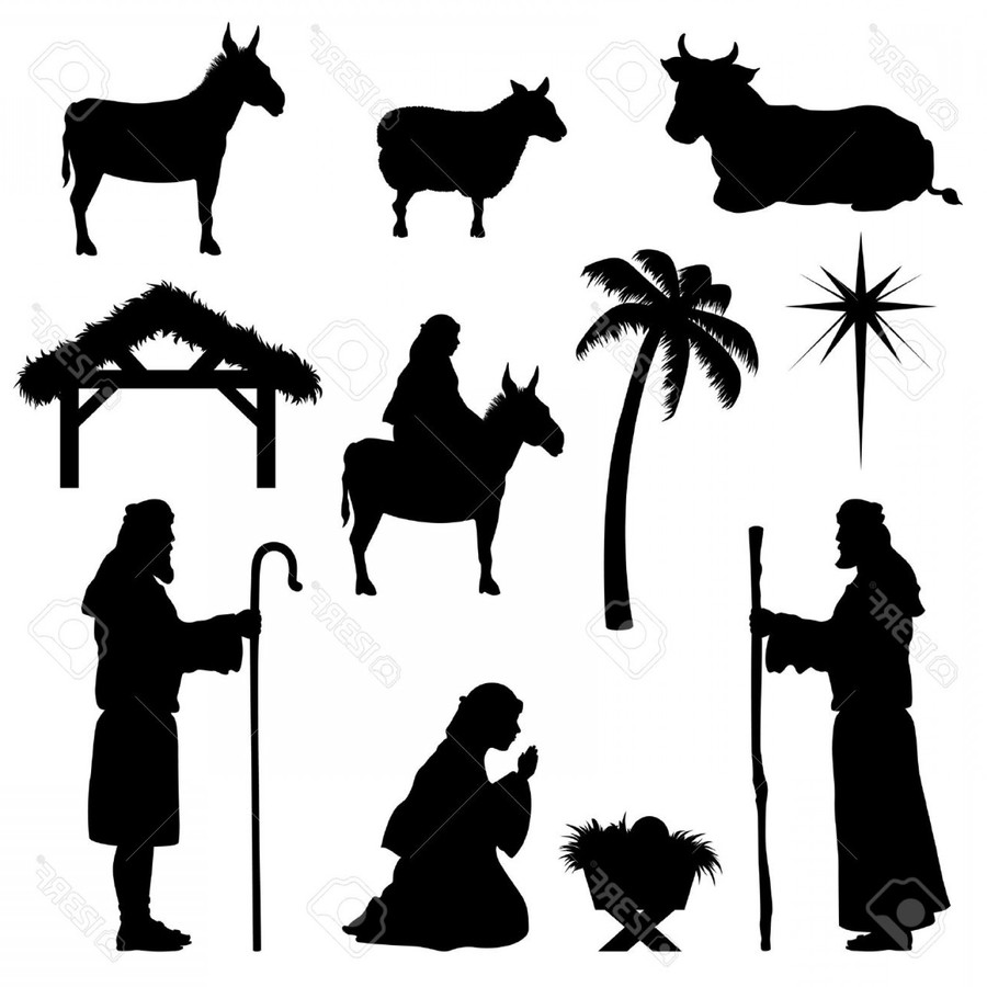 hight resolution of nativity scene