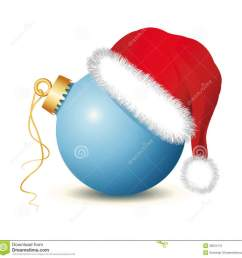 christmas balls with santa hat clipart santa claus christmas ornament christmas decoration [ 900 x 906 Pixel ]