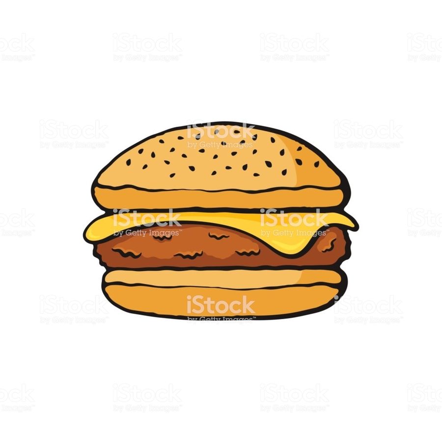 hight resolution of illustration hamburger clipart cheeseburger hamburger french fries
